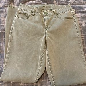 Maurices jegging olive green size small regular